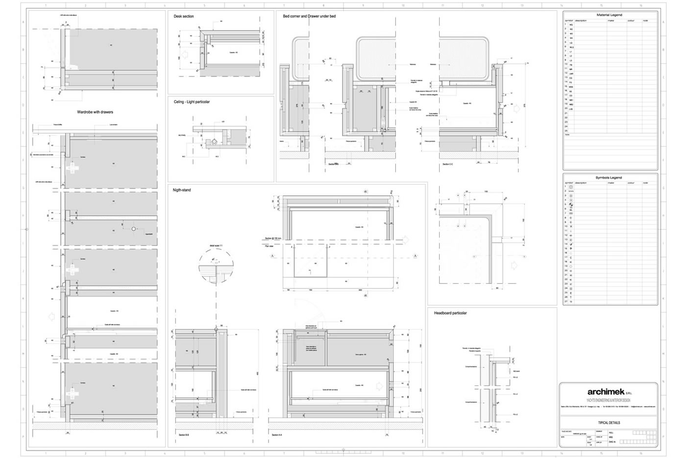 Architectural Shop Drawings Archimek